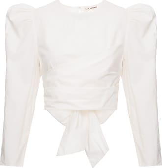 Ulla Johnson Cropped Éden Off White - Mulher - 6 US