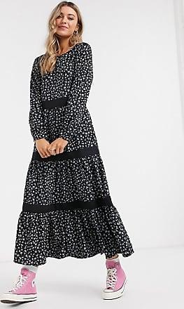 Jacqueline de Yong maxi dress in floral print-Multi