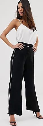 Unique21 Unique21 - Pantaloni in raso-Nero
