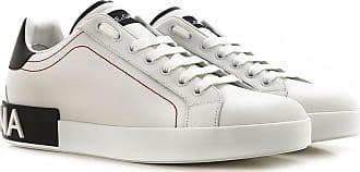 Dolce & Gabbana Sneaker für Herren, Tennisschuh, Turnschuh Günstig im Sale, Weiss, Leder, 2019, 40 40.5 41 41.5 42 42.5 44 45