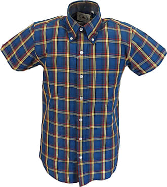 Relco Mens Checked Shirts (XX Large, Blue)
