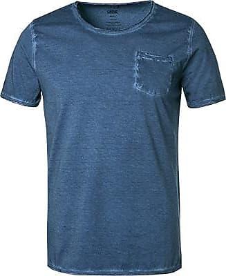Cinque Herren T-Shirt, Baumwolle, rauchblau