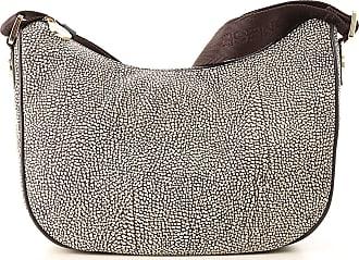 Borbonese Shoulder Bag for Women On Sale, Natural, Leather, 2017, one size