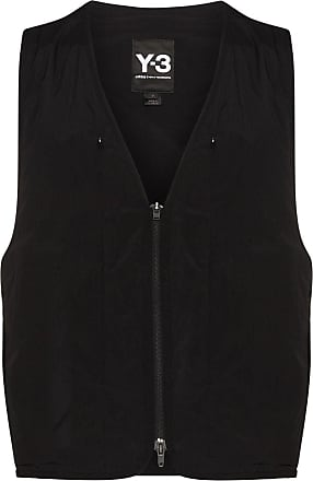 Yohji Yamamoto zipped gilet jacket - Black