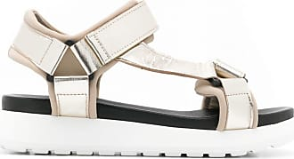 P.A.R.O.S.H. strappy platform sandals - Gold