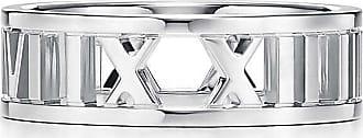 Tiffany & Co. Atlas open wide ring in sterling silver - Size 12 1/2
