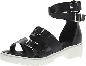 Dirty Laundry by Chinese Laundry Womens Lilybelle Gladiator Sandal,Black,8.5 M US