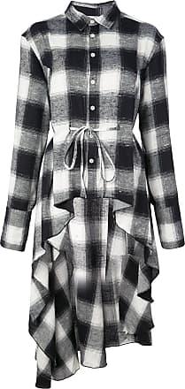 Haculla Signature woven checked shirt dress - Black