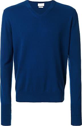 Ballantyne Suéter gola V de cashmere - Azul
