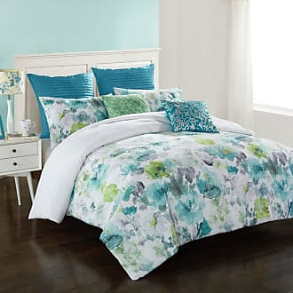 Better Homes & Gardens Watercolor Floral 7 Piece Comforter Set by Better Homes & Gardens, Size: Full/Queen - 784857772425