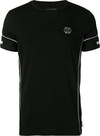 945e154230 Philipp Plein Camiseta com patch de logo - Preto