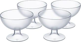 Brinox Jogo de Taças para Sobremesa Cozy Cristal Brinox