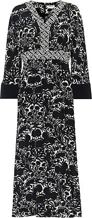 Max Mara Cicladi printed silk midi dress