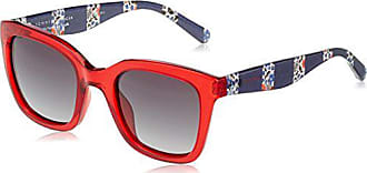 Rot Red , Tommy Hilfiger Damen TH 1530 C9A 53 Sonnenbrille
