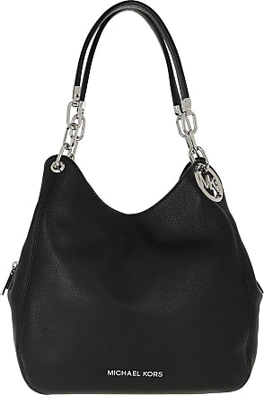 Michael Kors Tote - Lillie LG Chain Shoulder Bag Black - black - Tote for ladies