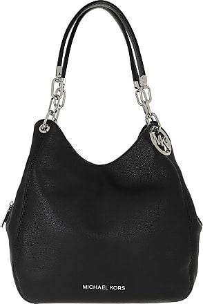 Michael Kors Lillie LG Chain Shoulder Bag Black
