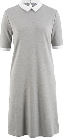 aa6cdb515c1312 Bonprix Shirtkleid - designt von Maite Kelly halber Arm in grau von bonprix