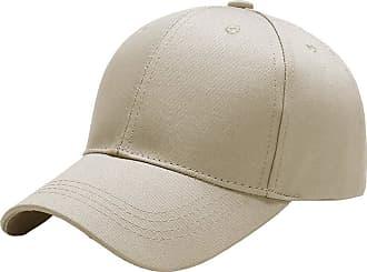 Yidarton Baseball Cap Polo Style Classic Sports Casual Plain Sun Hat(Beige)