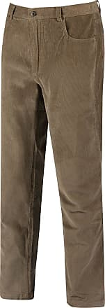 Regatta Mens Landford Corduroy Trousers (40L UK) (Sand/Cream)