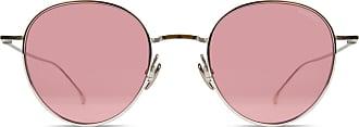 Komono Himbeer Conrad Edelstahl Sonnenbrille - Pink