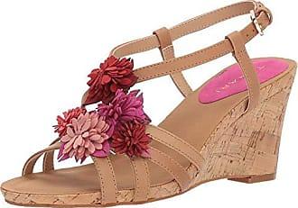 Elie Tahari Womens TA-Favor Wedge Sandal, Glove, 10 M US