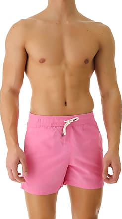 Ralph Lauren Swim Shorts Trunks for Men On Sale in Outlet, Rosa, poliammide, 2019, S