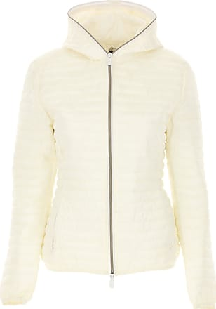Save The Duck Jacket for Women On Sale, White, polyester, 2017, 2 4