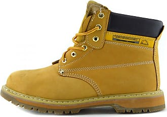 Groundwork Kick Footwear Mens New Comfort Work Safety Boots - UK 9 / EU 43, Honey
