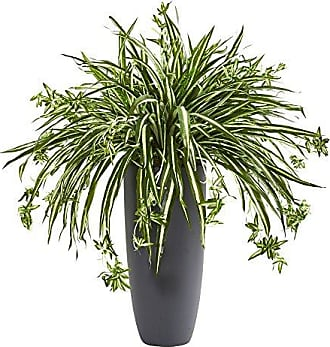 Nearly Natural Spider Artificial Plant in Cylinder Planter 33
