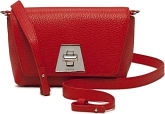 MQaccessories Little Day Bag in Cervocalf Leather with Silver Colored Hardware