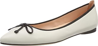 Unisa Womens Areny_na Ballet Flats, Multicolour (Ivory/Blk Ivory/Blk), 5 UK