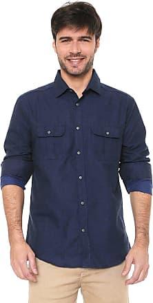 Malwee Camisa Malwee Slim Xadrez Azul-marinho