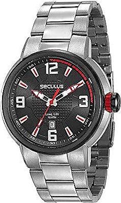 Seculus Relógio Seculus Masculino Ref: 23598gpsvca1 Esportivo Prateado