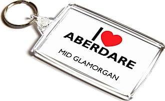 ILoveGifts KEYRING - I Love Aberdare - Mid Glamorgan - Wales