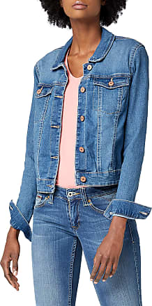 Noisy May Womens NMDEBRA LS DENIM JACKET NOOS Jacket, Blue (Medium Blue Denim), 34 (Manufacturer size: X-Small)