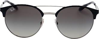 Ray-Ban Óculos de Sol Redondo Preto - Mulher - 54 US