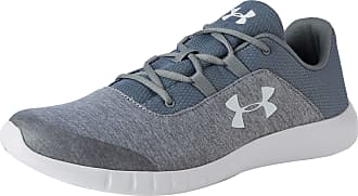 Under Armour Mens MOJO Trainers Fast-Drying Running and Gym Shoes, Steel (101), 9.5 UK 44/45 EU