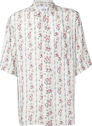 Han Kjobenhavn Camisa com estampa floral - Branco