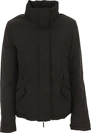 Giorgio Armani Down Jacket for Women, Puffer Ski Jacket On Sale in Outlet,  Black c9ab122c3da