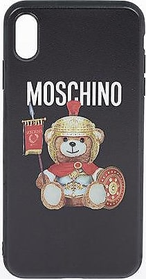 Moschino Printed Cover for iPhone XS MAX size Unica