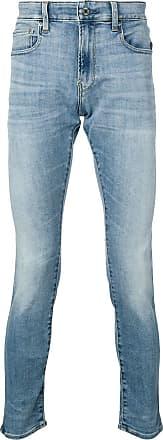 G-Star Raw Research Calça jeans skinny cintura baixa - Azul