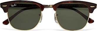 Ray-Ban Clubmaster Acetate And Gold-tone Sunglasses - Tortoiseshell