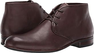 John Varvatos Seagher Chukka Boot (Wood Brown) Mens Lace-up Boots