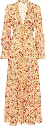 Poupette St Barth Bedrucktes Maxikleid Rita aus Baumwolle