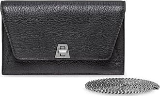 MQaccessories Envelope in Cervo Structured Nappa Leather