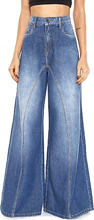 Zoomp Calça Jeans Zoomp Pantalona Azul