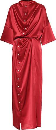 Y / Project Satin midi dress