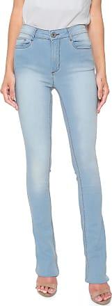 Enna Calça Jeans Enna Bootcut Estonada Azul