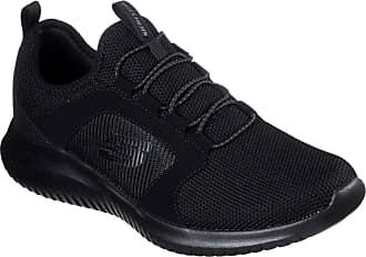 Skechers Tênis Esportivo Flection, Skechers, Adulto Unissex, Preto, 42