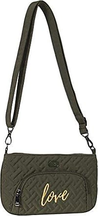 Lug Womens Flyer Mini Cross-Body Bag, Olive Green, One Size
